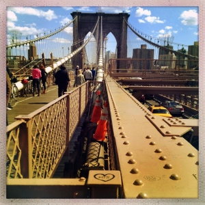 Brooklyn Bridge 2:12pm