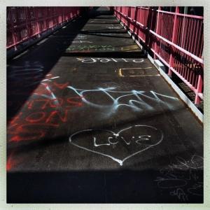 Williamsburg Bridge 12:45pm