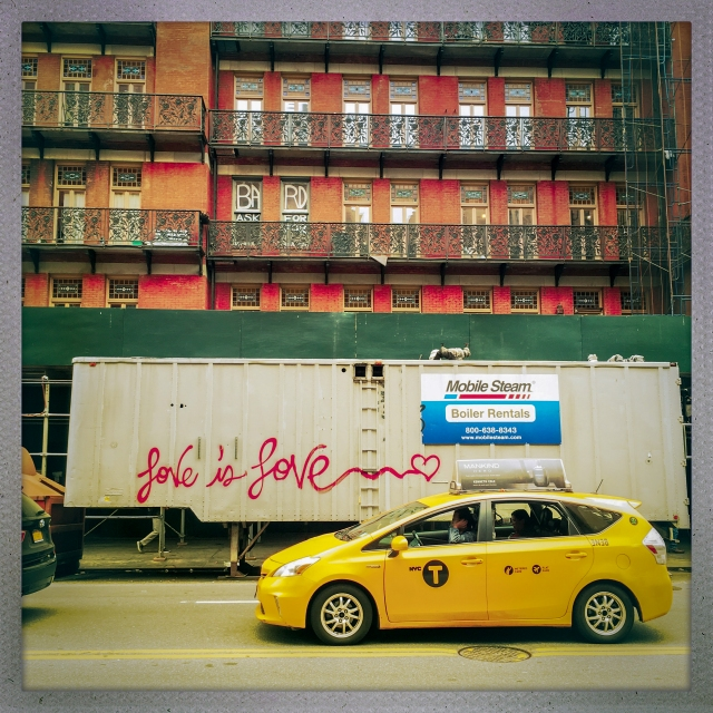 LOVE CITY. West 23rd Street. 1:43pm