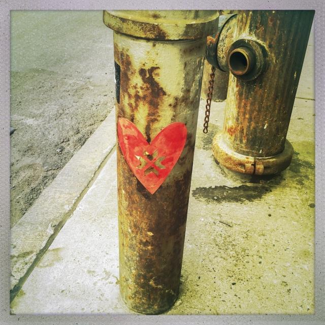 LOVE CITY. West 23rd Street.