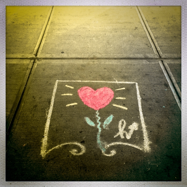LOVE CITY. 509 West 24th Street, 12:55pm.