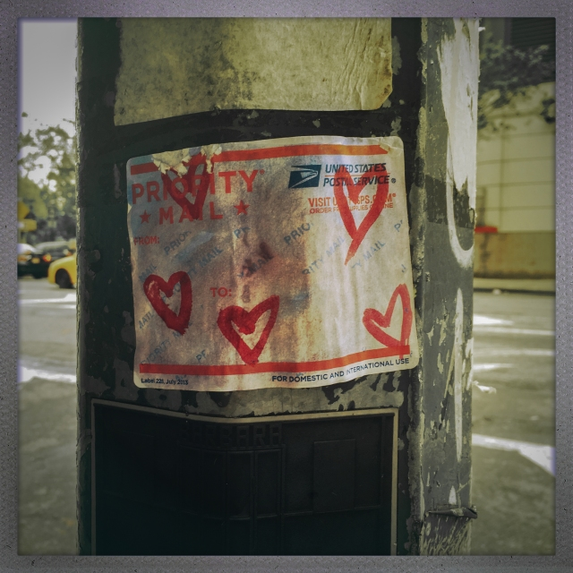 LOVE CITY. 11th Avenue. 5:53pm.