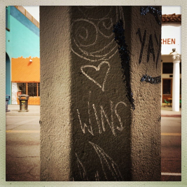 LOVE CITY. Venice. 1527 Pacific Avenue. 1:12pm.