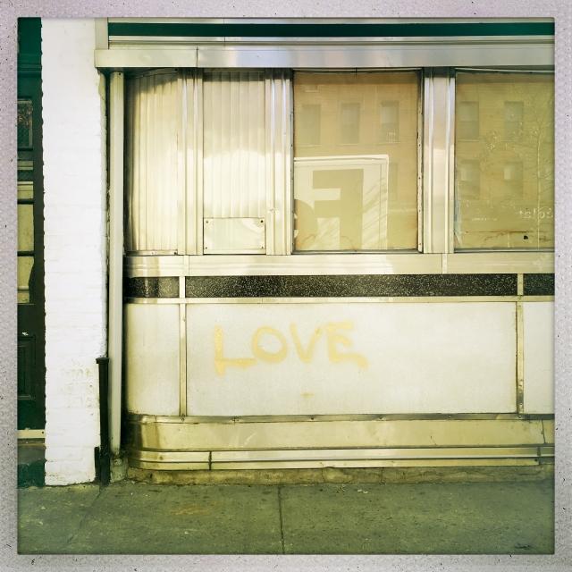 LOVE CITY. 210 Tenth Avenue. 12:15pm.
