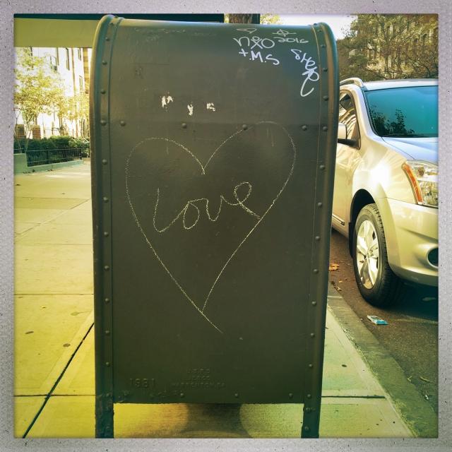 LOVE CITY. West 23rd Street. 12:17pm.