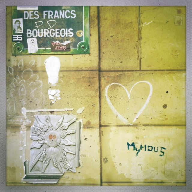 Love City. 46 Rue des Francs. 12:24pm.