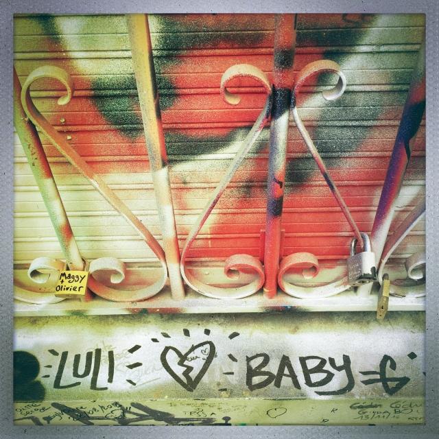 LOVE CITY. 4 Rue de Verneuil. 12:54pm.