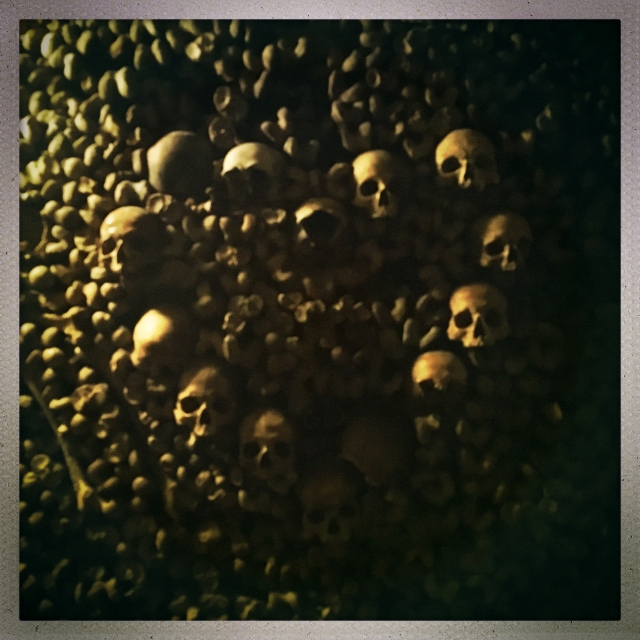 Love City. Catacombes de Paris. 7:20pm.