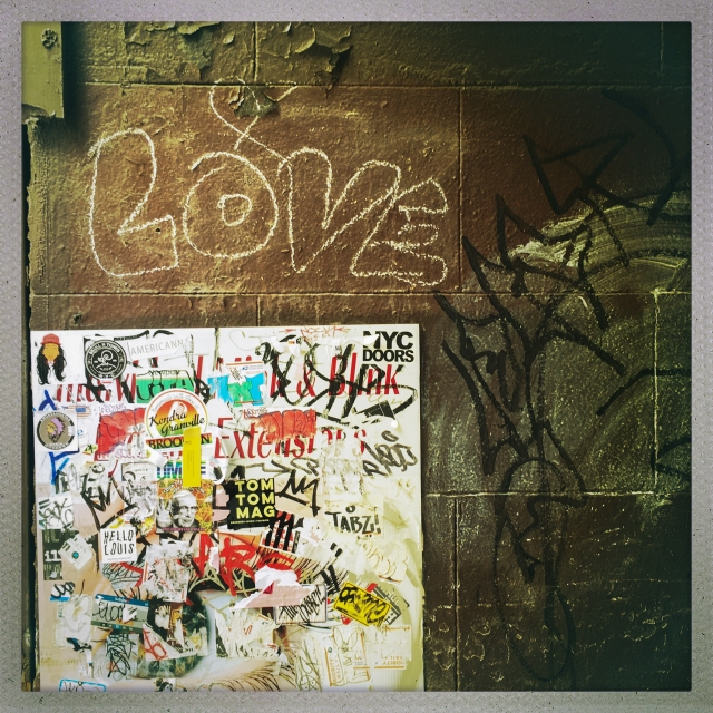 LOVE CITY. 149 West 14th Street. 1:43pm.