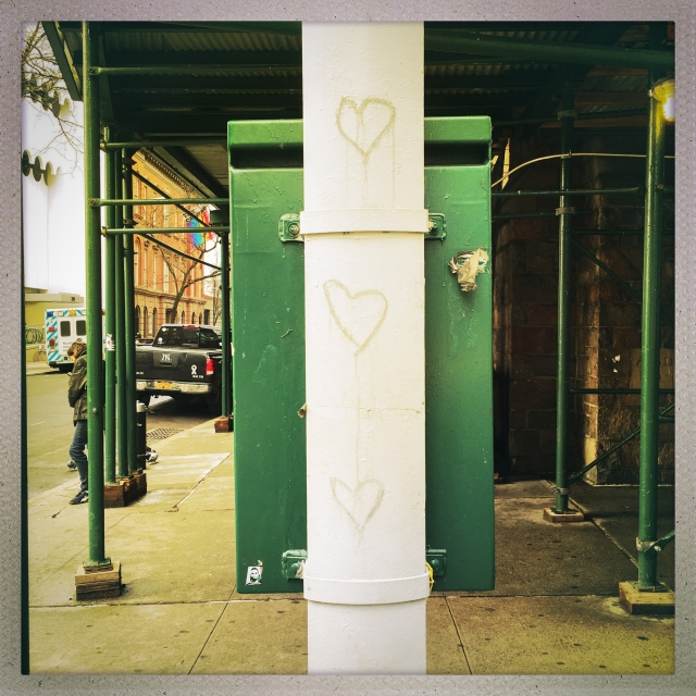 LOVE CITY. 20 7th Avenue. 1:46pm.