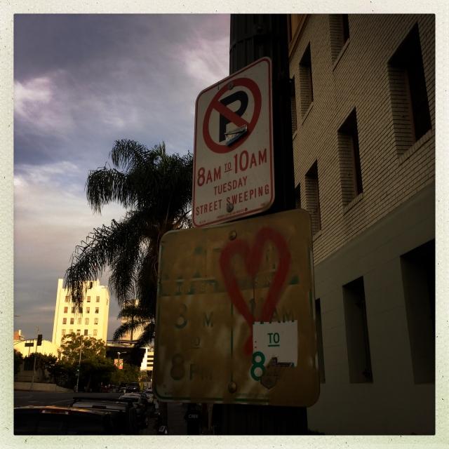 LOVE CITY. Yucca Avenue. 5:21pm.