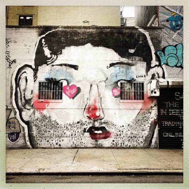 LOVE CITY. 150 Elizabeth Street. 3:50pm.