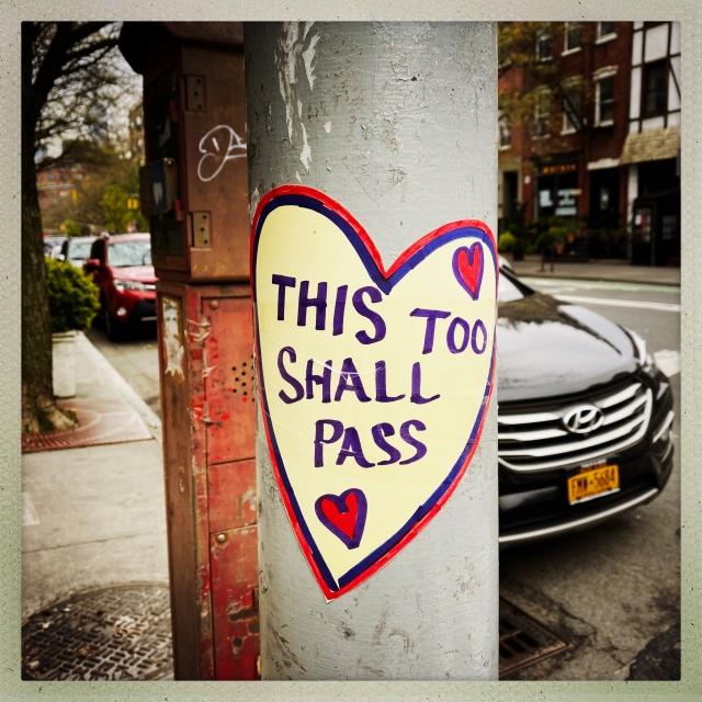 LOVE CITY. 534 Hudson Street. 10:35am.