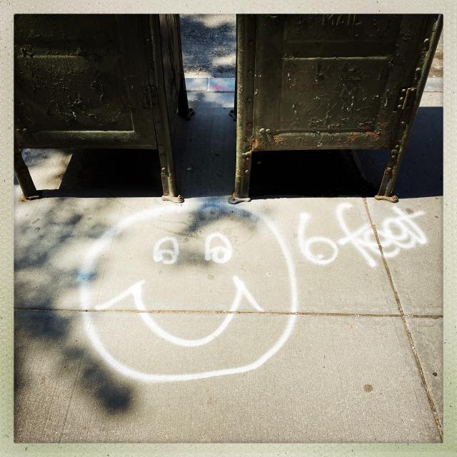 LOVE CITY.  756 Washington Street. 1:04pm.